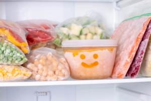 como congelar legumes e verduras